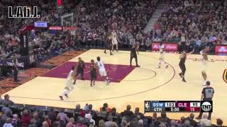 The Golden State Warriors exposing LeBron James low basketball I.Q.