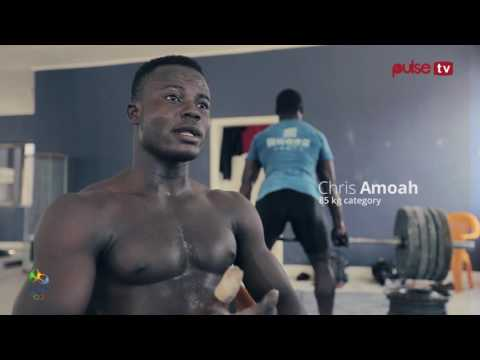 Ghana Weight Lifting Cranes - Chris Amoah