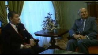 Ronald Reagan asked Mikhail Gorbachev for help fighting alien invasion