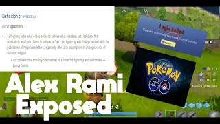Exposing AlexRamiGaming For Who He REALLY Is