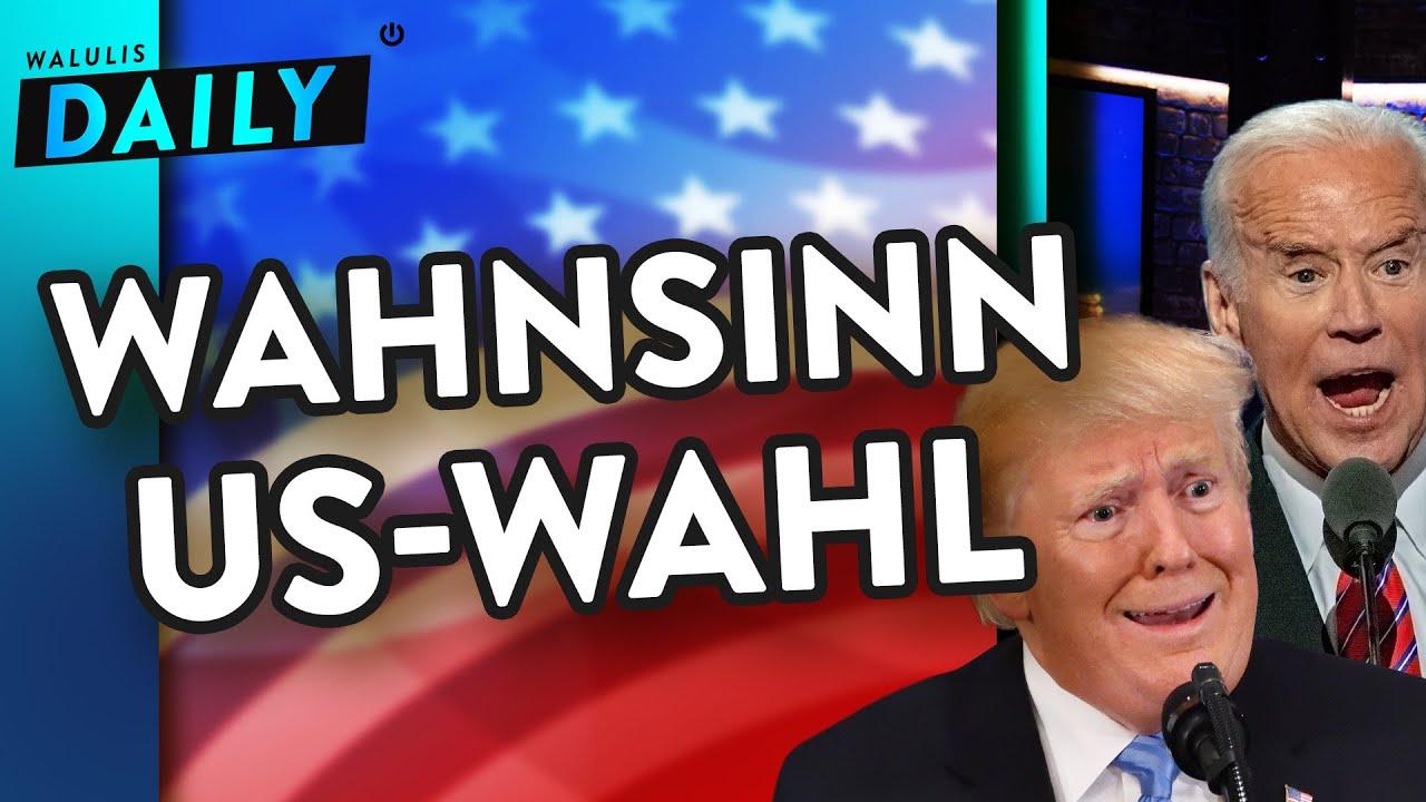 Trump VS Biden: Die lustigsten Berichte aus der Wahlnacht | WALULIS DAILY
