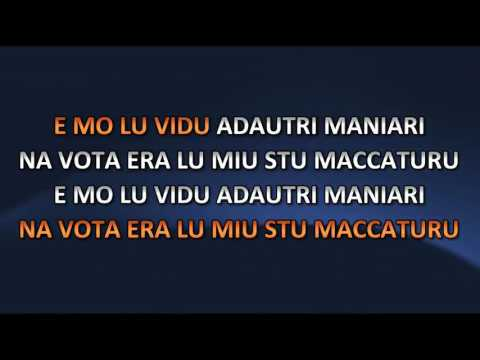 AA.VV. - Rosina Mia (Video karaoke)