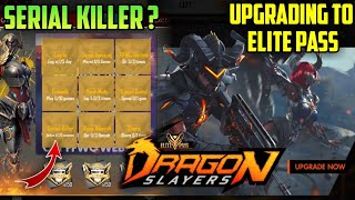 FREEFIRE- HOW TO COMPLETE SERIAL KILLER MISSION?, UPGRADING TO ELITE PASS S11 AND REVIEW CHECK OUT!!