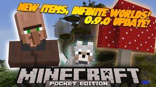 "Minecraft PE ""A New World"" 0.9.0 Update (Minecraft Pocket Edition Series)"
