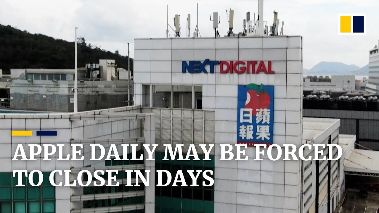 Download Final edition of Hong Kong tabloid newspaper Apple Daily may be days away