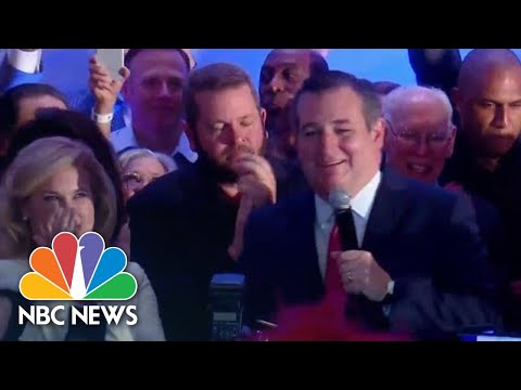 Ted Cruz Celebrates Win Over Beto O\'Rourke In Texas | NBC News