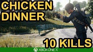 PUBG / 1 MAN SQUAD - 10 KILL WIN! / Xbox One X