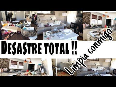 DESASTRE TOTAL || LIMPIEZA MOTIVADORA || INSPÍRATE CONMIGO 🎀