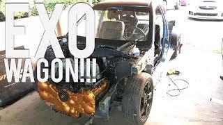 Subaru EXO Vagon İnşa! WRX H6 Motor Takas! Ziyaret AV Günlükleri Araba!