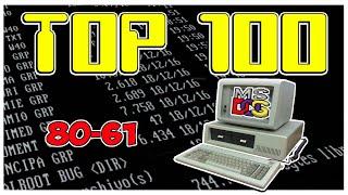 🥇 TOP 100 MEJORES JUEGOS DE MS DOS DE LA HISTORIA 80-61 para el pc classic