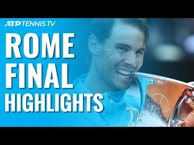 Nadal Beats Djokovic To Win Ninth Rome Title! | Rome 2019 Final Highlights