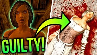 Why Saadia is GUILTY! | Skyrim Lore Secrets!