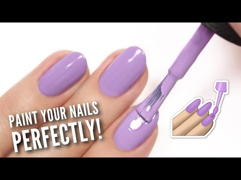 Paint Your Nails PERFECTLY At Home!
