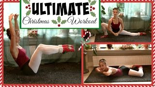 The Ultimate Full Body Christmas Workout: Legs, Arms, Abs, Back + Stretch