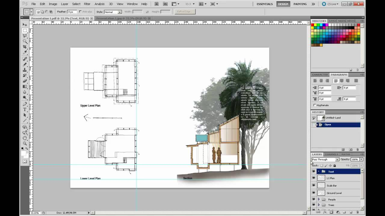 Architecture Design Presentation Sheets 2-10 producing your presentations.mp4 - youtube