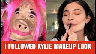 KYLIE JENNER MAKEUP ROUTINE