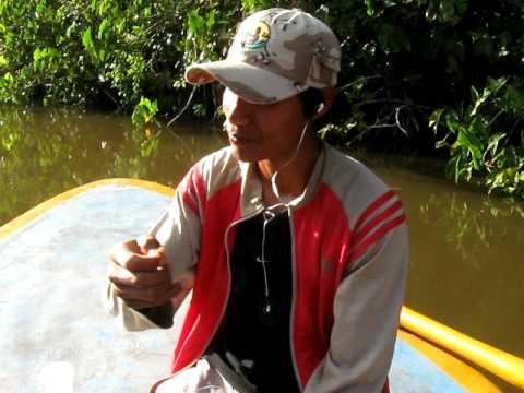 Wurmessen im Orinoko Delta