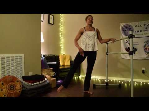 Hadiya Movement Systems | Virtual Movement Studio | Short barre sequence