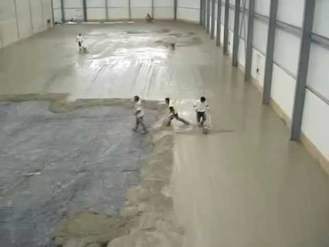 Dallage industriel 0600 39 03 63 dalle lisse youtube for Dalle beton finition quartz