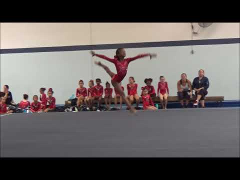Level 4 Floor routine 10-08-2017, First place