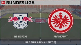 Video Gol Pertandingan RasenBallsport Leipzig vs Eintracht Frankfurt