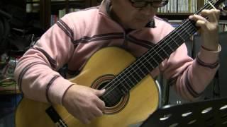旅立ちの日に~BGMっぽく弾きました ギター 宮本