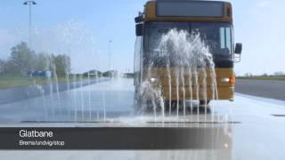 Tør- og Glatbane for bus og lastvogn