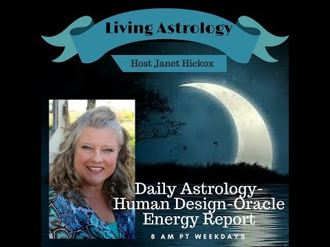 Daily Astrology-Human Design-Oracle Energy Report
