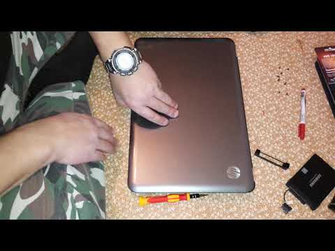 20191218 Ноутбук HP PAVILION G6-1259ER замена термопрокладки