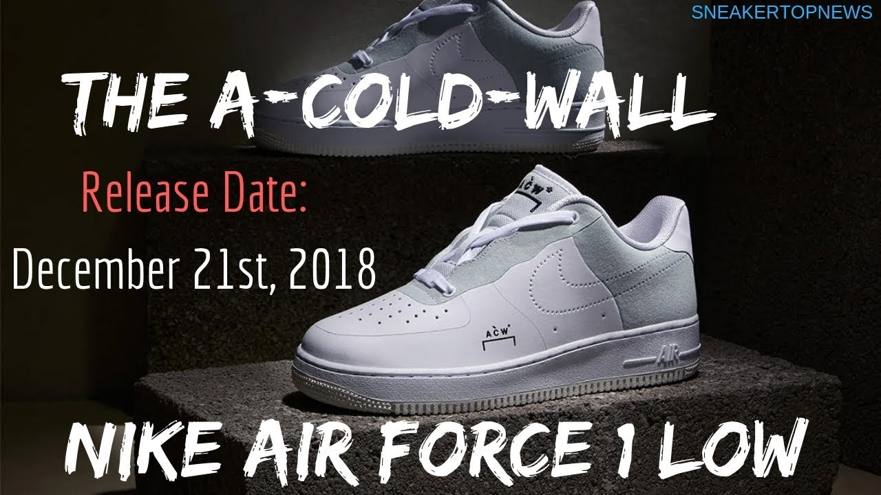 8732eb3c05 The A COLD WALL x Nike Air Force 1 Low