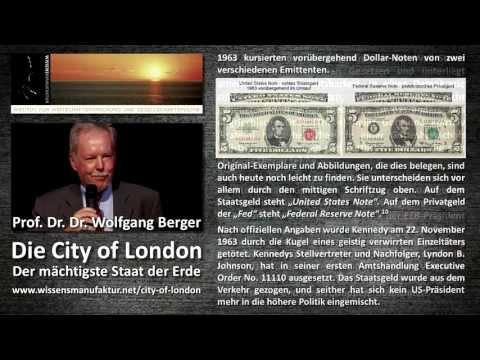 Prof. Dr. Dr. Wolfgang Berger - Die City of London - Der mächtigste Staat der Erde