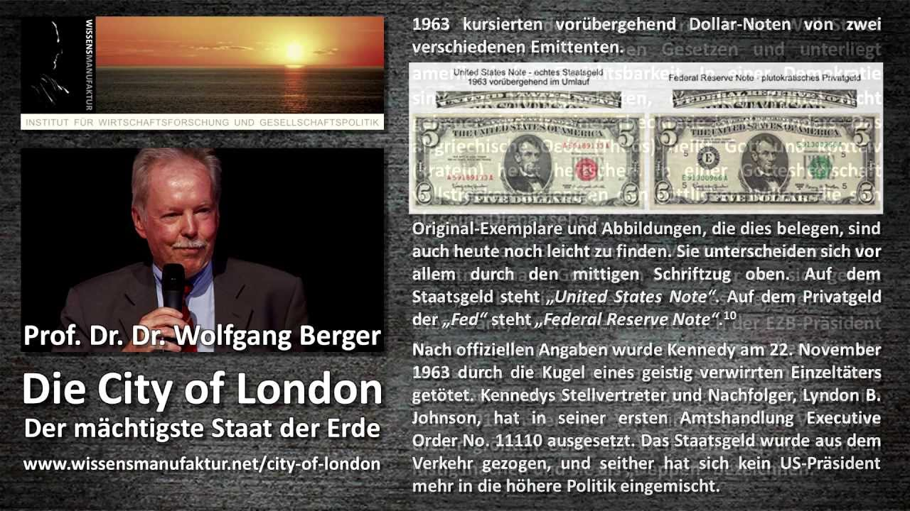prof dr dr wolfgang berger die city of london der m chtigste staat der erde youtube. Black Bedroom Furniture Sets. Home Design Ideas