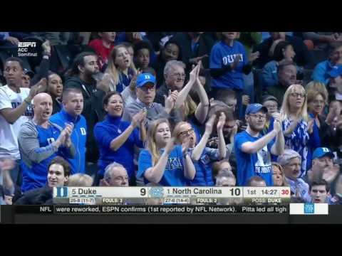 North Carolina Tar Heels vs Duke Blue Devils Full Game 10 03 17