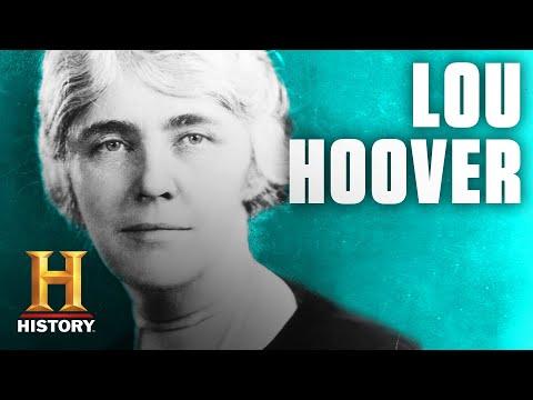 Lou Hoover   Mrs. President   History