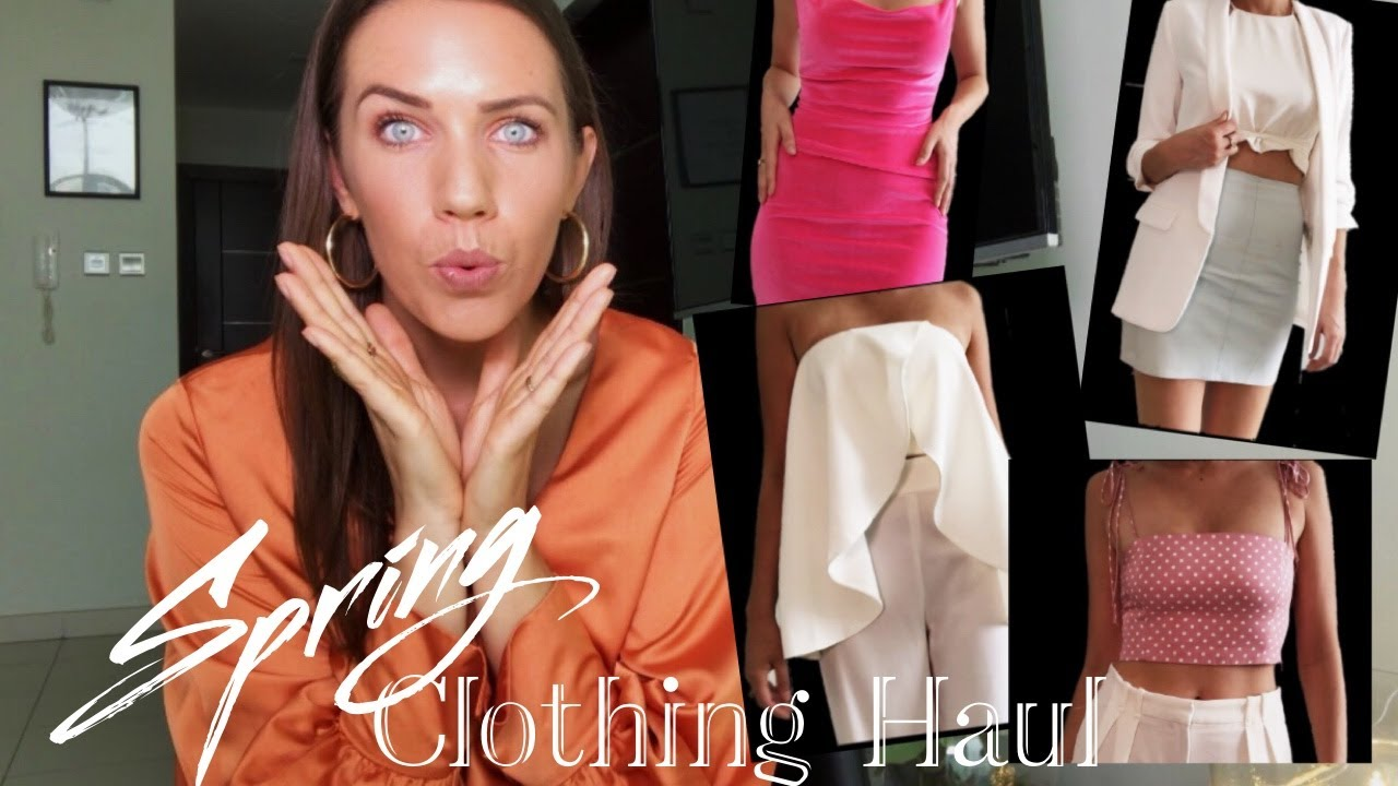 c9ddaed92ad SPRING / SUMMER TRY-ON HAUL | MISSGUIDED & ZARA - YouTube