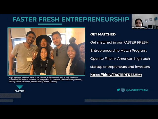 FASTER Live AMA: FilipinxAms in Healthtech + Safety During COVID19 - Ft Charity Nicolas + Eric Daza