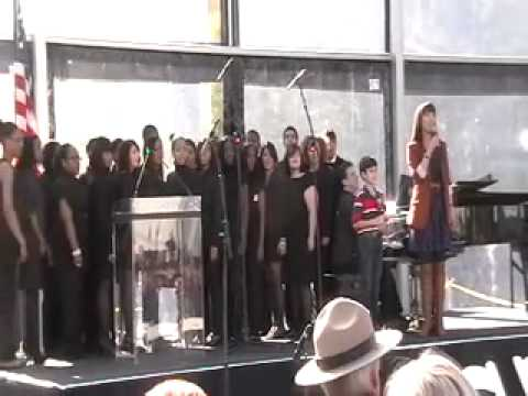 LIBERTY Performs at the Statue of Liberty's 125th Anniversary
