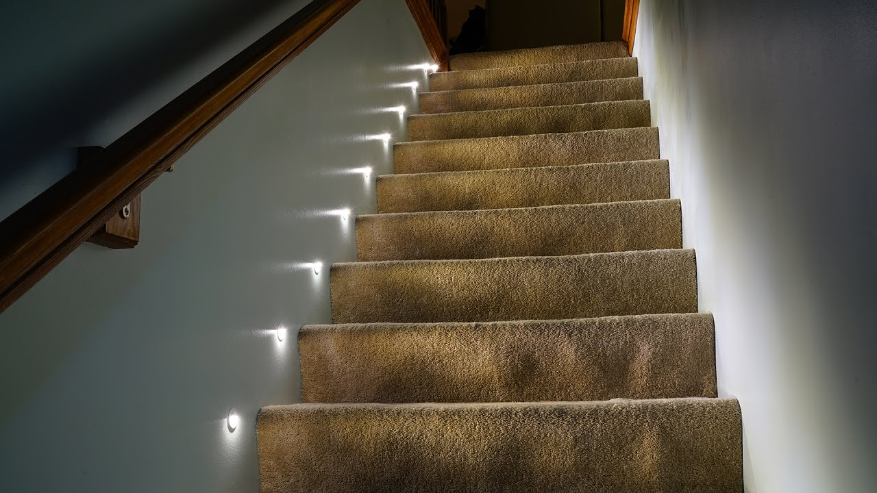 stair lighting. LED Stair Lights Lighting A