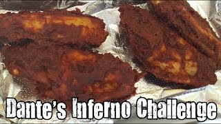 Dante's Inferno Challenge (Habanero, Ghost Pepper & Scorpion Pepper Wings) - A Pizza Heaven