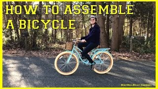 How to Assemble a Bike (Bicycle) - store bought out of the box
