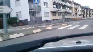 SAMSUNG GALAXY ACE 3 VIDEO TEST DRIVING TO WORMS CITY  GERMANY