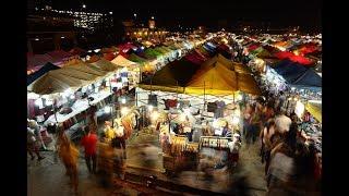 ตลาดนัดรถไฟ ศรีนครินทร์ - Train Market Srinakarin