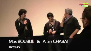 Les Gamins : Alain Chabat, Max Boublil et Anthony Marciano aux Rencontres du Cinéma