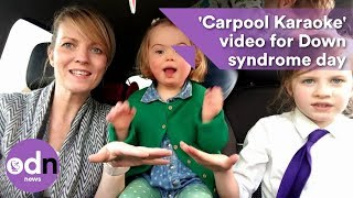 Tear-jerking 'Carpool Karaoke' video for Down syndrome day