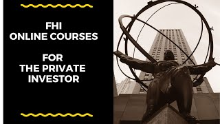 FHI Introduction to Online Courses