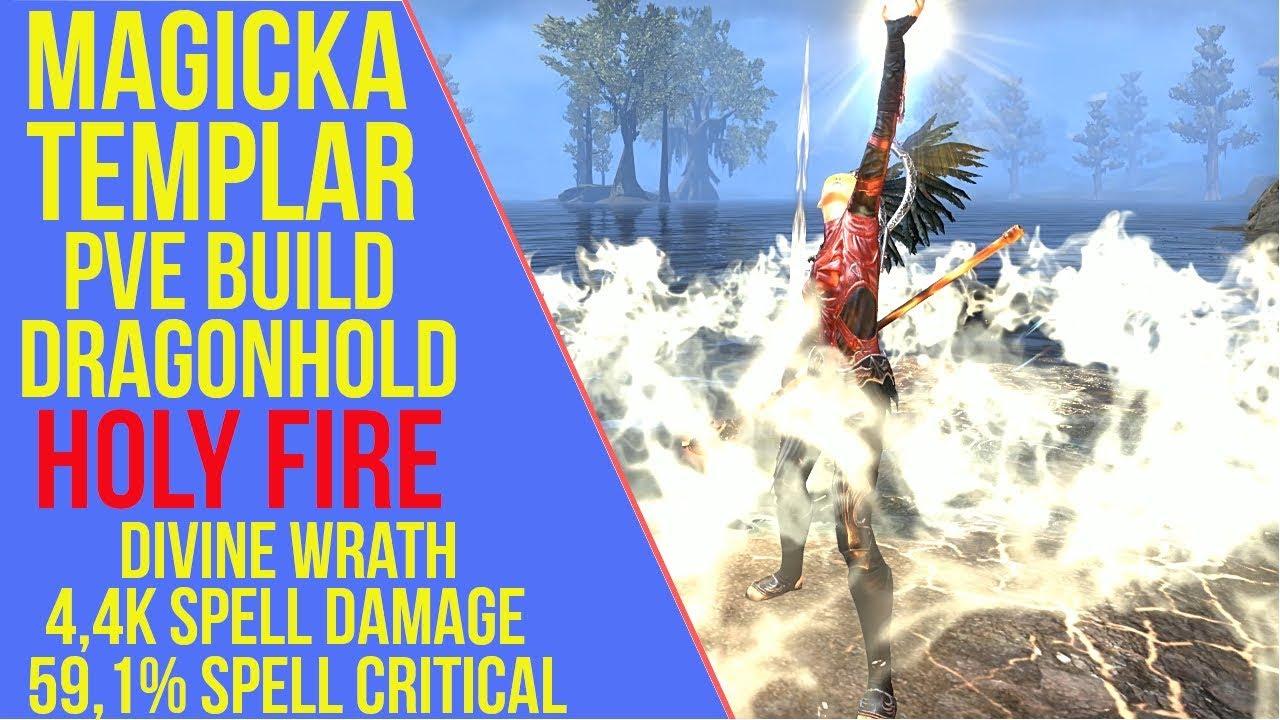 Magicka Templar PVE Build - Holy Fire - ArzyeLBuilds