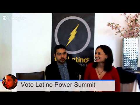 Wilmer Valderrama & Voto Latino Power Summit Hangout On Air