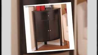 Corner Kitchen Cabinet Corner Kitchen Bathroom Storage Hallway Cabinet Space Saver W Drawer Ideas