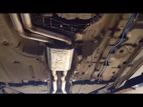 полный выхлап на #f10535i @islam_dibirov задние банки от #F10m5 резонатор от @joombra диаметр магист
