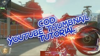 COD Thumbnail Tutorial II Fast, Free, and Easy ||